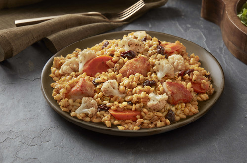 Moroccan Chicken with Barley