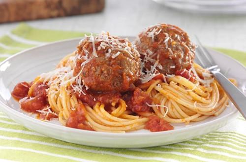 Weeknight Spaghetti & Meatballs