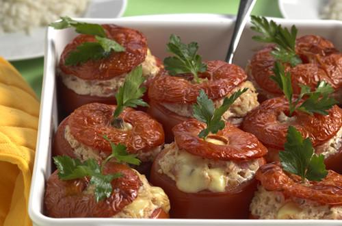Tomates farcies à la Lucernoise