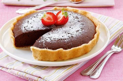 Knorr - Schokoladen-Tarte