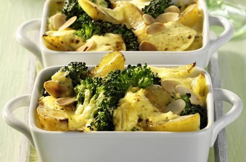 Knorr - Kartoffel Auflauf mit Broccoli