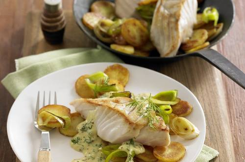 Knorr - Seelachsfilets in Senfsauce