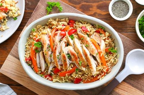 Skillet Chicken & Rice