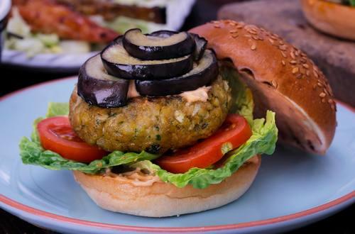 Hellmann's - Hamburger aux falafels