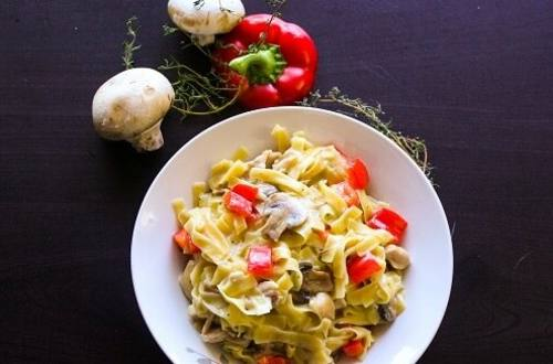 Easy Butter 'N Herb Pasta Dinner
