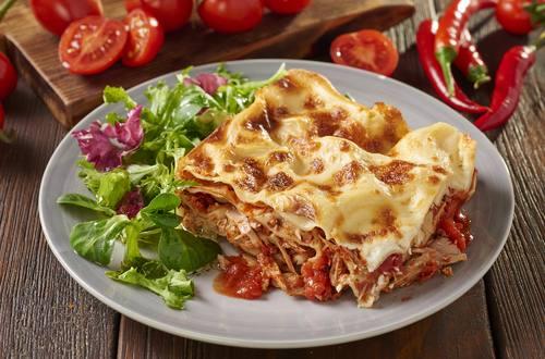 Spicy lasagne med tun
