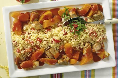 Knorr - Puten-Ragout mit Kürbis