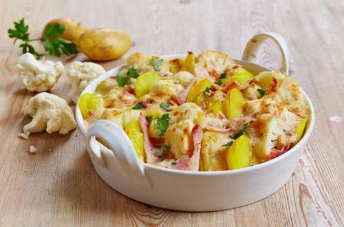 Blumenkohl-Kartoffel-Auflauf