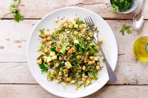 Bulgur-Algen-Salat