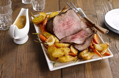 Knorr - Roastbeef mit Kräuterkruste