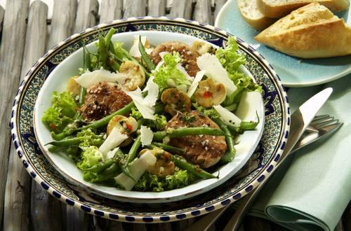 Knorr - Mediterraner Salat mit Schweinefilet