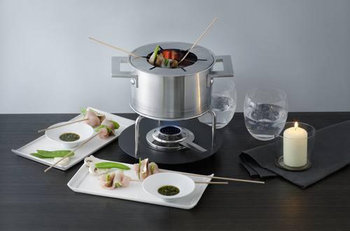 Knorr - Fondue Chinoise Asia mit Mini-Spiessli mit Gemüse und Poulet