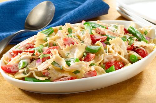 Tuna & Bow Tie Pasta Salad Recipe