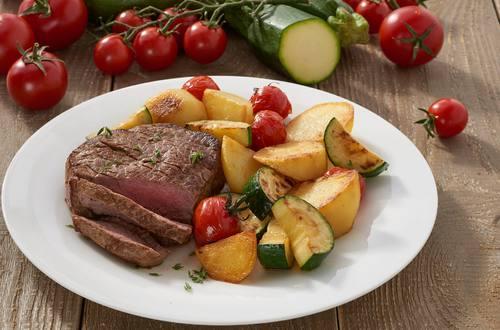 Knorr - Rindersteak mit Grillgemüse