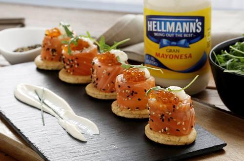 Makis salmón