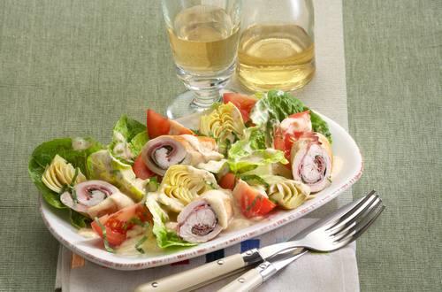 Knorr - Schnitzelröllchen-Salat