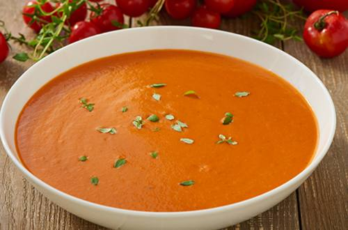Overheerlijke tomatensoep