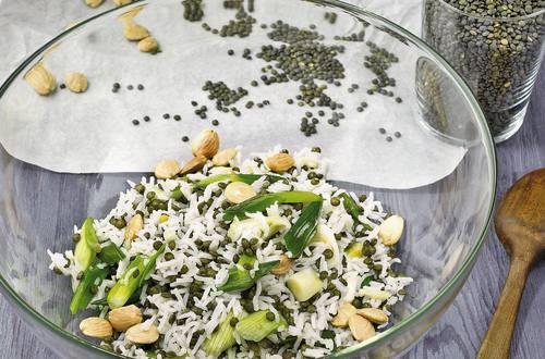 Knorr - Reissalat mit Berglinsen