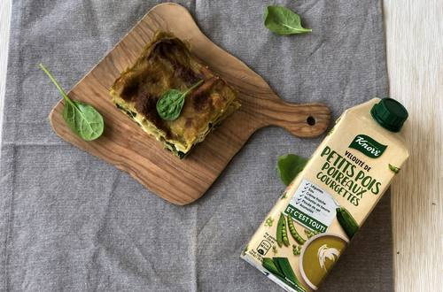 Lasagne verde soupe Knorr