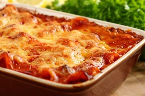 Knorr - Lasagne all amatriciana mit Pancetta