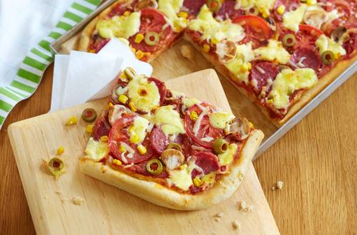 Knorr - Pizza vom Blech