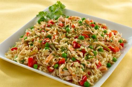 Rice with Chicken Mom's Way