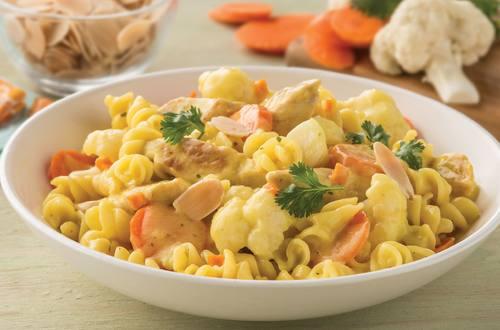 Chicken, Cauliflower & Carrot Curry Recipe