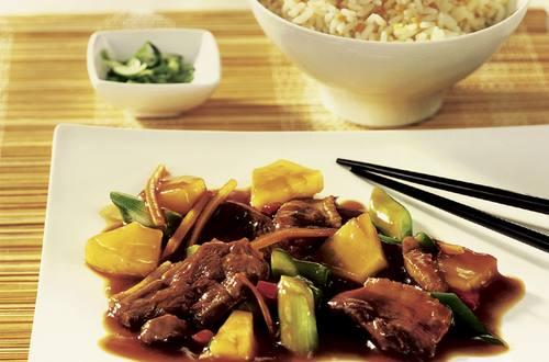 Knorr - Asia Entengeschnetzeltes mit Ananas