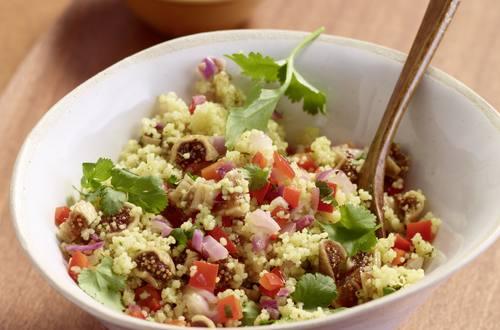 Couscous-Salat mit Feigen