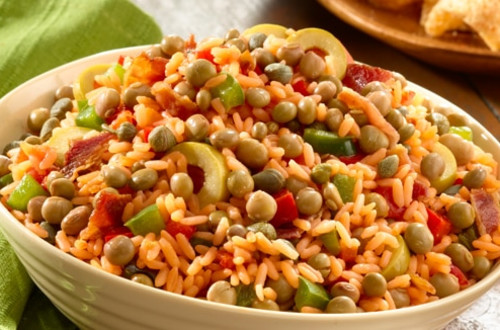 Rice with Peas (Arroz con Gandules)