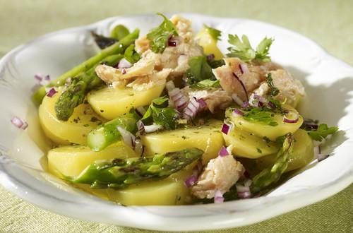 Warmer Kartoffel-Spargel-Salat