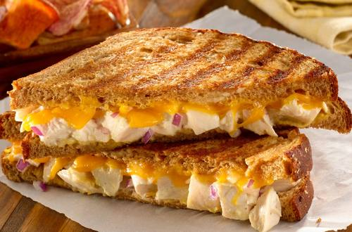 Grilled Chicken Salad Paninis