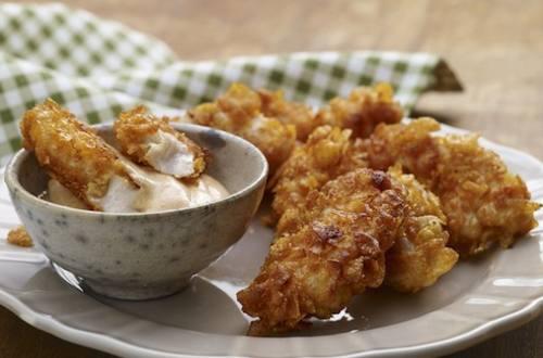 Nuggets de poulet avec sauce à dipper au piment
