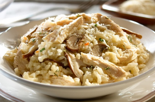 Chicken mushroom risotto for How do i make chicken risotto