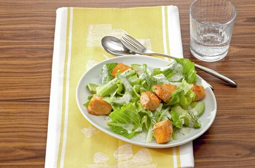 Knorr - Romanasalat mit Lachs