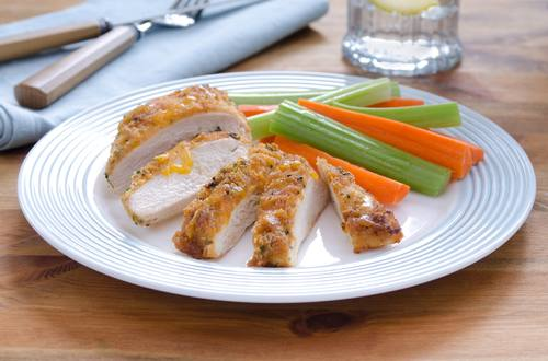 BBQ-Cheddar-Crusted Chicken Recipe