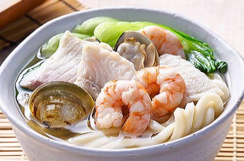 海鮮烏龍麵