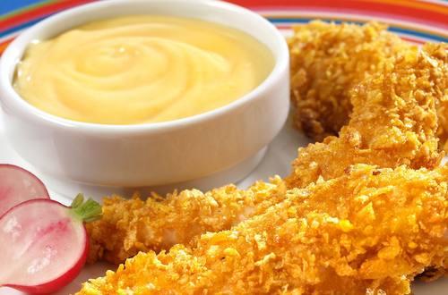 Hellmann's - Lanières de poulet à la moutarde et au miel