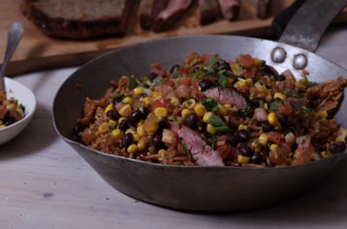 Southwest Steak & Rice