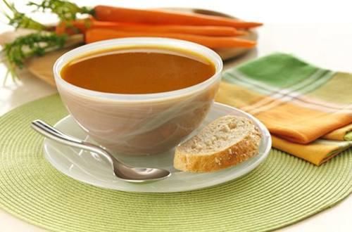 Soupe aux Carottes et à l'Oignon Caramélisé