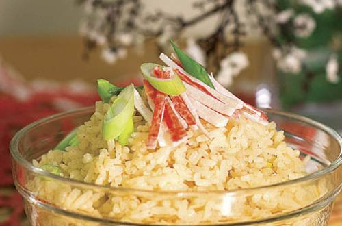 Aligue Rice Recipe