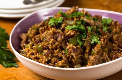 Cajun Sausage and Rice