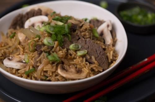 Steak & Mushroom Teriyaki Bowl