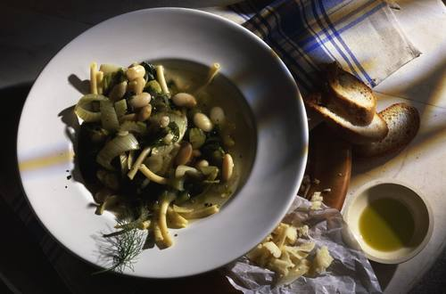 Toskanischer Bohnen Topf