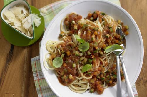 Knorr - Spaghetti mit Gemüse-Bolognese