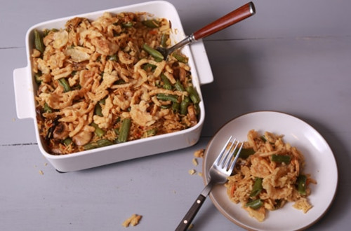 Rice 'N Green Bean Casserole