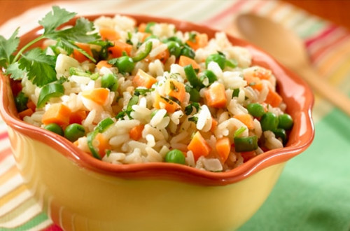 Chicken Rice with Vegetables