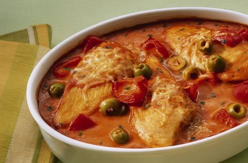 Knorr - Tomaten-Paprika-Hähnchen