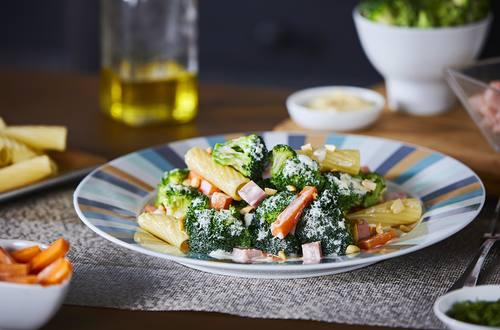 Ensalada de Brócoli y Jamón