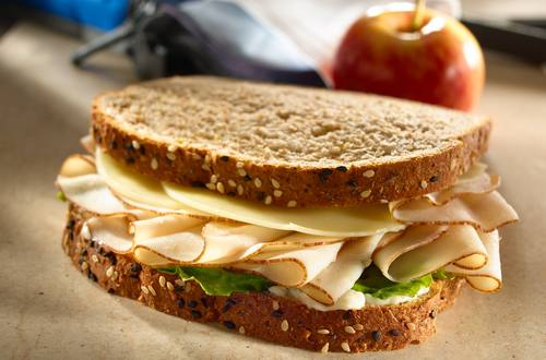 Turkey Sandwich with Whole Grain Bread